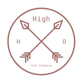 High Oaks Glamping Logo