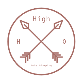 High Oaks Glamping Logo
