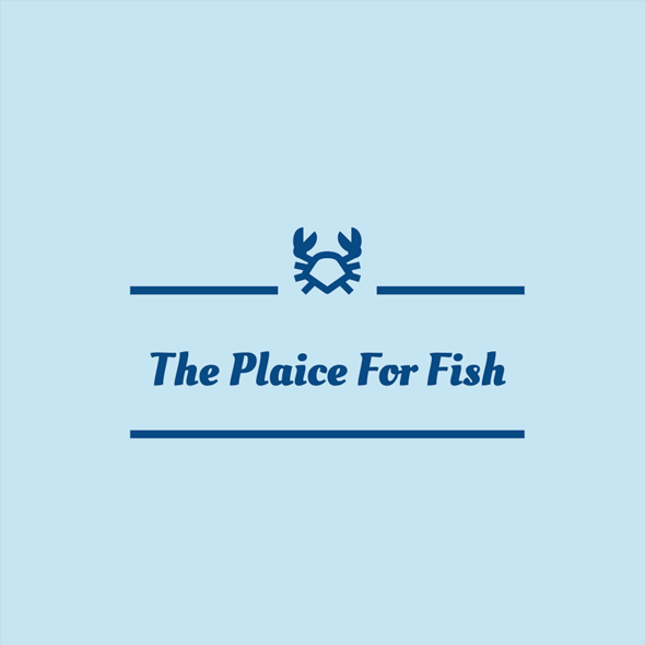 The Plaice For Fish Logo